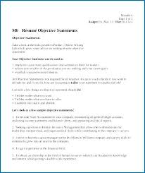 Resume Objective Statement For Entry Level Sales Example Job
