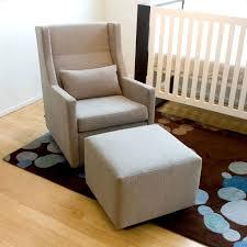 gus modern sparrow glider  ottoman  grid furnishings