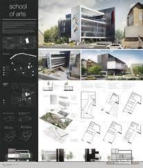 Курсовой проект Архитектура и проектирование Архитектурные  Конкурсный проект Школа Искусств в Лондоне Курсовой проект ИжГТУ им М