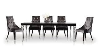 modern black lacquer dining table black lacquer dining room