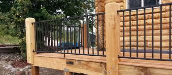 metal handrails for deck stairs. deck railings metal handrails for stairs t