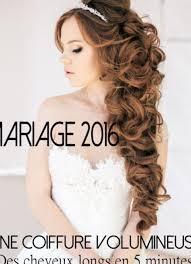 Coiffure Mariage Cheveux Longs Lachés Bouclés Tendances Et