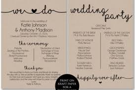 Wedding Ceremony Program Template Free Download 027 Wedding Ceremony Program Templates Template Ulyssesroom