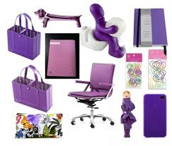 decorate your desk with colorful office supplies sayeh pezeshki for amazing home purple desk accessories designs