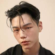 Men korean japan style part bangs full short hair multi color fate southerland is a fan of the natural not too messed with facial. 50 Korean Men Haircut Hairstyle Ideas Video Men Hairstyles World