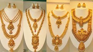 Jos Alukkas Chain Designs Latest 22k Joy Alukkas Gold Long Haram Designs Youtube