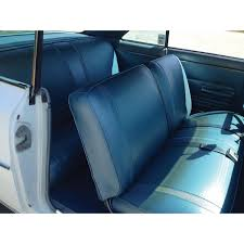 nova chevy ii non ss front bench seat covers vinyl 1967