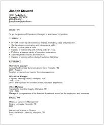 Generic Objective For Resume Custom 48 Expert Generic Resume Template Bj U48 Resume Samples