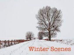 winter descriptive writing for ks by teacherstreasuretrove activity