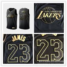 Nba Jersey Size Chart Nba Jersey Lakers 23 James Black Gold Embroidered Basketball Clothes Support On Behalf Of The Hair