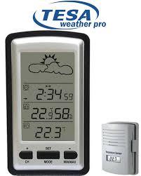 ws1281 tesa wireless weather station with forecast larger imagemove
