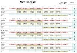 excel rotating schedule 12 hour shift schedule template excel famous photos 24 7 examples