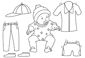 Clothes Template Printable Paper Doll Template Paper Doll Coloring Pages Printable