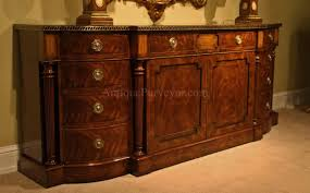 Tall Sideboard large regency style flame mahogany sideboard or credenza 3260 by xevi.us