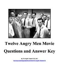 best twelve angry men images classic books  twelve angry men movie questions and answer key