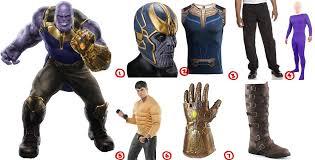 how to dress like thanos make diy costume