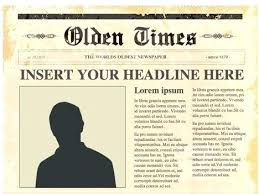 Newspaper Article Template Students Newspaper Report Template Unique Article News Ks2 Tes