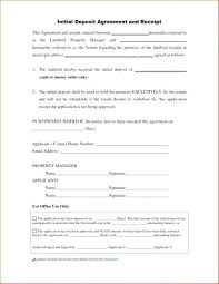 Vehicle Deposit Form Format Sample Car Sale Receipt Used I