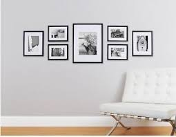 picture frames on staircase wall. Image Is Loading Set-7-Black-Wooden-Picture-Photo-Frames-Frame- Picture Frames On Staircase Wall C