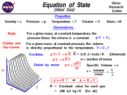 gas constant formula. the equation of state for an ideal gas relates pressure, temperature, density and constant formula )