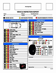 Free Printable Vehicle Inspection Form Daily Vehicle Inspection Form Template Beautiful Vehicle Inspection