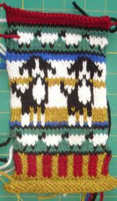 Border Collie Knitting Chart
