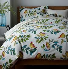 bird print duvet cover