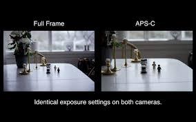 crop vs full frame