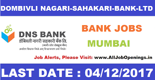 Bank Manager Job Description Dombivli Nagari Sahakari Bank Ltd Need For 40 Assistant