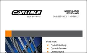 Carlisle Belts Catalog Belt Interchanges Tech Sheets