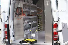 view larger image cargo van shelving ideas