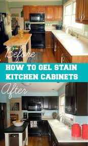 Dark Stain Kitchen Cabinets 25 Best Ideas About Dark Stained Cabinets On Pinterest Stained