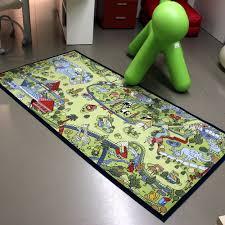 kids rug play mat safari park 100x200