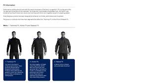 Berghaus Size Guide