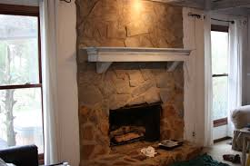 painted stone wallerins art and gardens painted stone fireplace before and after