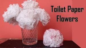 Tissue Paper Flower Centerpieces Diy Toilet Paper Flower Centerpiece Ideas Wedding Decoration Ideas