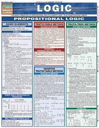 Logic Laminated Study Guide 9781572226296