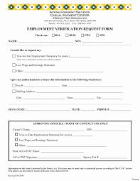Free Employment Verification Form Template 100 Luxury Sample Insurance Verification form DOCUMENTS IDEAS 40