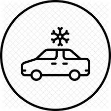 car air conditioning icon. air, conditioning, car, ac, flake, ice, snow icon car air conditioning i