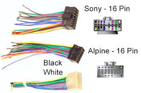 sony cd player wiring harness complete wiring diagrams \u2022 sony xplod car radio wiring diagram at Sony Xplod Car Stereo Wiring Diagram