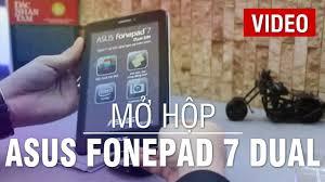 Mở hộp Asus FonePad 7 Dual Sim - Máy tính bảng 7 inch 2 SIM giá rẻ - YouTube