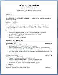 Formatted Resume Template Eddubois Com