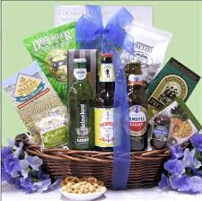 father s day beer snack gift basket
