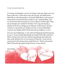 45 Romantic <b>Love Letters</b> for Her & for Him