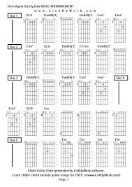 steely dan chord charts lick by neck learn solo chord melody fingerstyle guitar free lessons