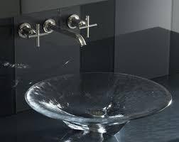 kohler facet glass lavatory kohler glass lavatory collection the new natures chemistry lavatories