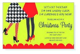 Sample Of Christmas Party Invitation Clever Holiday Party Invitations Invitation Cards