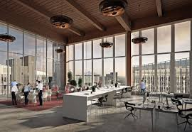 office space architecture.  Office High Ceilings In A Mezzanine At One Of The S Office Buildings Intended Office Space Architecture H