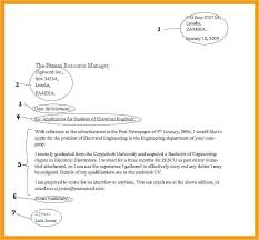 Formal Letter Format Choice Image Sample Collections Model Of In