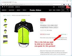 Sizing Guides For Our Cycle Clothing Prendas Ciclismo